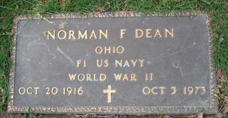 DEAN, NORMAN F. - Union County, Ohio | NORMAN F. DEAN - Ohio Gravestone Photos