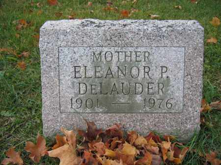 DELAUDER, ELEANOR P. - Union County, Ohio | ELEANOR P. DELAUDER - Ohio Gravestone Photos