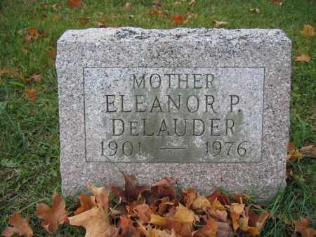 DELAUDER, ELEANOR P. - Union County, Ohio   ELEANOR P. DELAUDER - Ohio Gravestone Photos