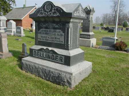 DELLINGER, MARIE M. - Union County, Ohio | MARIE M. DELLINGER - Ohio Gravestone Photos