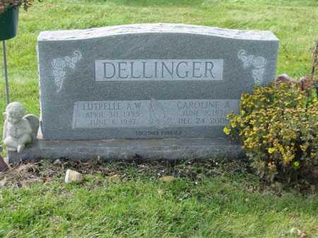DELLINGER, LUTRELLE A.W. - Union County, Ohio | LUTRELLE A.W. DELLINGER - Ohio Gravestone Photos
