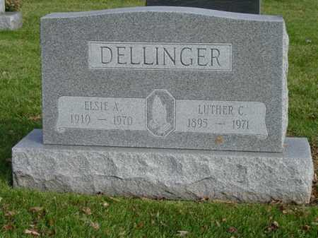 DELLINGER, LUTHER C - Union County, Ohio | LUTHER C DELLINGER - Ohio Gravestone Photos