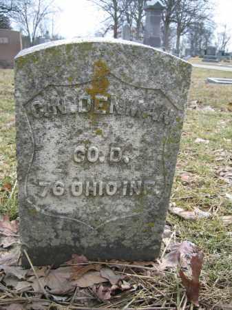 DENMAN, CHRISTOPHER N. - Union County, Ohio | CHRISTOPHER N. DENMAN - Ohio Gravestone Photos