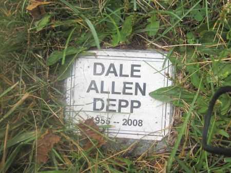 DEPP, DALE ALLEN - Union County, Ohio | DALE ALLEN DEPP - Ohio Gravestone Photos