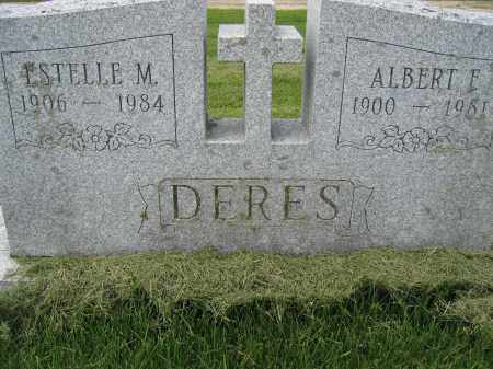 DERES, ALBERT F. - Union County, Ohio | ALBERT F. DERES - Ohio Gravestone Photos