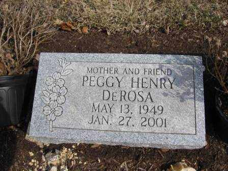 DEROSA, PEGGY HENRY - Union County, Ohio | PEGGY HENRY DEROSA - Ohio Gravestone Photos