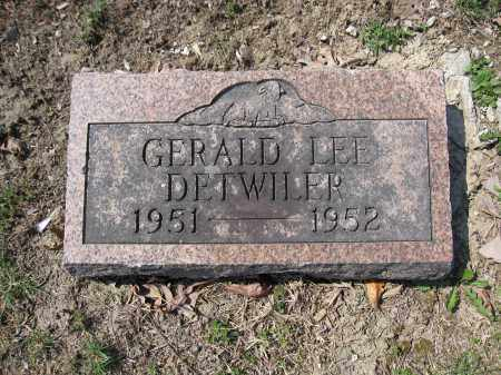 DETWILER, GERALD LEE - Union County, Ohio | GERALD LEE DETWILER - Ohio Gravestone Photos