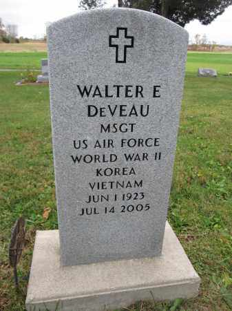 DEVEAU, WALTER E. - Union County, Ohio | WALTER E. DEVEAU - Ohio Gravestone Photos