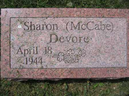 DEVORE, SHARON - Union County, Ohio | SHARON DEVORE - Ohio Gravestone Photos