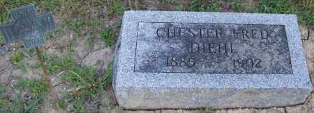 DIEHL, CHESTER FRED - Union County, Ohio | CHESTER FRED DIEHL - Ohio Gravestone Photos