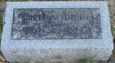 DIEHL, WILLIAM - Union County, Ohio | WILLIAM DIEHL - Ohio Gravestone Photos