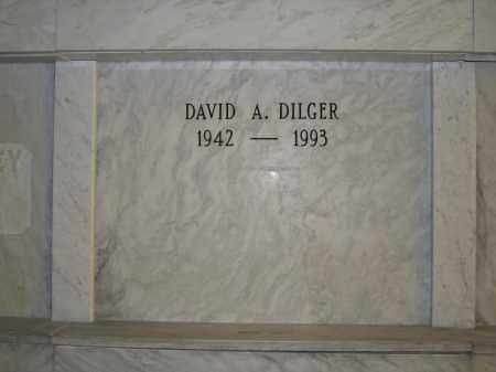 DILGER, DAVID A. - Union County, Ohio | DAVID A. DILGER - Ohio Gravestone Photos