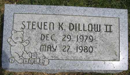 DILLOW II, STEVEN K. - Union County, Ohio | STEVEN K. DILLOW II - Ohio Gravestone Photos