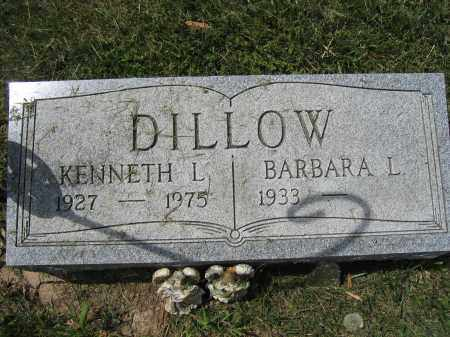 DILLOW, KENNETH L. - Union County, Ohio | KENNETH L. DILLOW - Ohio Gravestone Photos