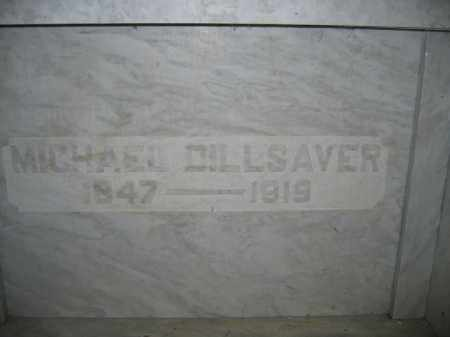 DILLSAVER, MICHAEL - Union County, Ohio | MICHAEL DILLSAVER - Ohio Gravestone Photos