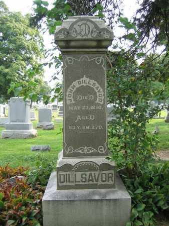 DILLSAVOR, JOHN - Union County, Ohio | JOHN DILLSAVOR - Ohio Gravestone Photos