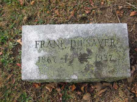 DILSAVER, EDMOND FRANKLIN - Union County, Ohio | EDMOND FRANKLIN DILSAVER - Ohio Gravestone Photos