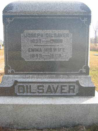 DILSAVER, EMMA - Union County, Ohio | EMMA DILSAVER - Ohio Gravestone Photos