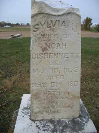DISBENNETT, SYLVIA J. - Union County, Ohio | SYLVIA J. DISBENNETT - Ohio Gravestone Photos