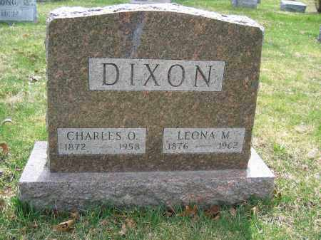 DIXON, LEONA M. - Union County, Ohio | LEONA M. DIXON - Ohio Gravestone Photos