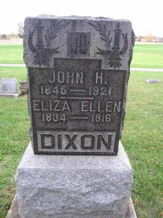 DIXON, JOHN H. - Union County, Ohio | JOHN H. DIXON - Ohio Gravestone Photos