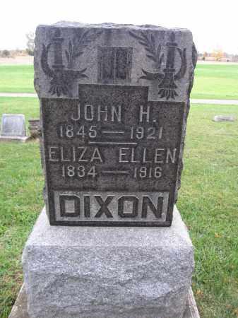 DIXON, ELIZA ELLEN - Union County, Ohio | ELIZA ELLEN DIXON - Ohio Gravestone Photos