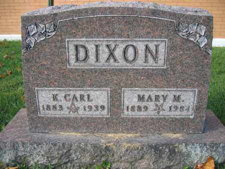 DIXON, K. CARL - Union County, Ohio | K. CARL DIXON - Ohio Gravestone Photos