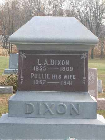 DIXON, POLLIE - Union County, Ohio | POLLIE DIXON - Ohio Gravestone Photos