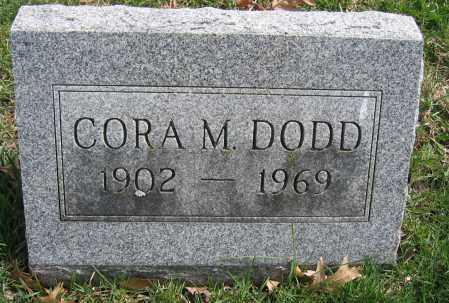 DODD, CORA M. - Union County, Ohio | CORA M. DODD - Ohio Gravestone Photos