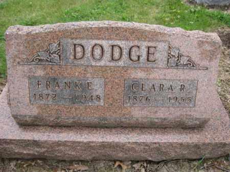 DODGE, CLARA R. - Union County, Ohio | CLARA R. DODGE - Ohio Gravestone Photos