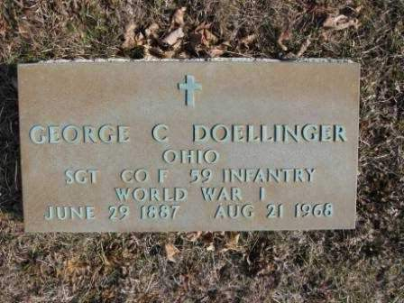 DOELLINGER, GEORGE C. - Union County, Ohio | GEORGE C. DOELLINGER - Ohio Gravestone Photos