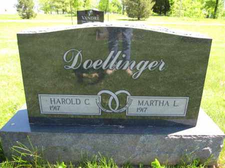 DOELLINGER, HAROLD C. - Union County, Ohio | HAROLD C. DOELLINGER - Ohio Gravestone Photos