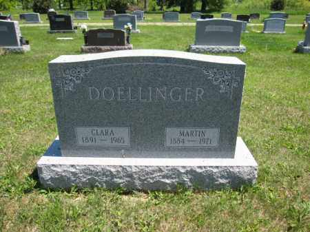 DOELLINGER, CLARA - Union County, Ohio | CLARA DOELLINGER - Ohio Gravestone Photos