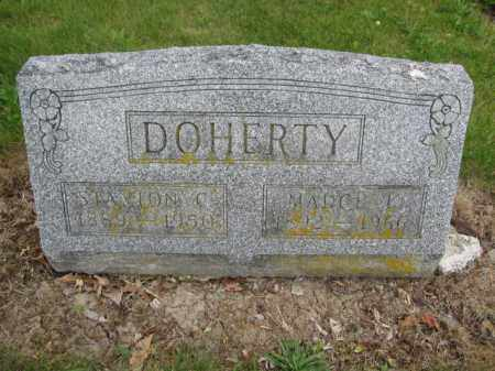 DOHERTY, STANTON C. - Union County, Ohio | STANTON C. DOHERTY - Ohio Gravestone Photos