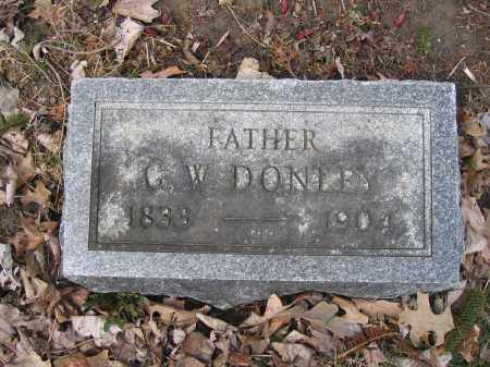 DONLEY, C.W. - Union County, Ohio | C.W. DONLEY - Ohio Gravestone Photos