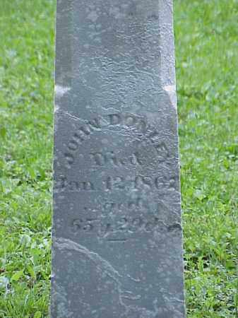 DONLEY, JOHN - Union County, Ohio | JOHN DONLEY - Ohio Gravestone Photos