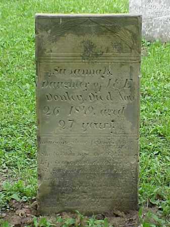 DONLEY, SUSANNAH - Union County, Ohio | SUSANNAH DONLEY - Ohio Gravestone Photos