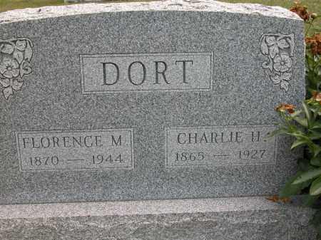 DORT, FLORENCE M. - Union County, Ohio | FLORENCE M. DORT - Ohio Gravestone Photos