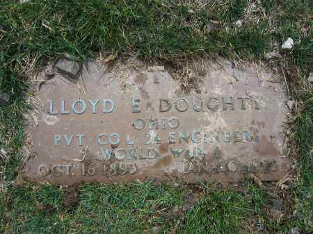 DOUGHTY, LLOYD E. - Union County, Ohio | LLOYD E. DOUGHTY - Ohio Gravestone Photos