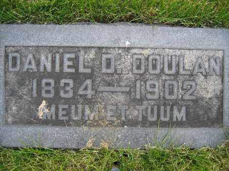 DOULAN, DANIEL D. - Union County, Ohio | DANIEL D. DOULAN - Ohio Gravestone Photos