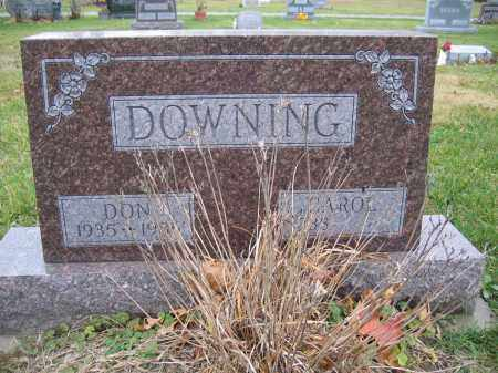 DOWNING, CAROL - Union County, Ohio | CAROL DOWNING - Ohio Gravestone Photos