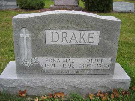 DRAKE, OLIVE - Union County, Ohio | OLIVE DRAKE - Ohio Gravestone Photos