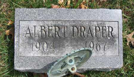DRAPER, ALBERT - Union County, Ohio | ALBERT DRAPER - Ohio Gravestone Photos