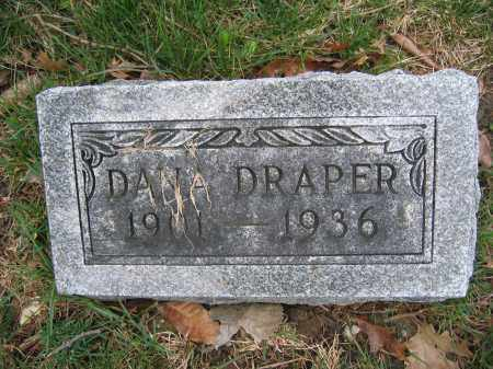 DRAPER, DANA - Union County, Ohio | DANA DRAPER - Ohio Gravestone Photos
