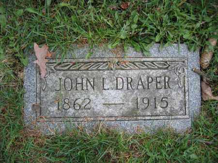 DRAPER, JOHN L. - Union County, Ohio | JOHN L. DRAPER - Ohio Gravestone Photos