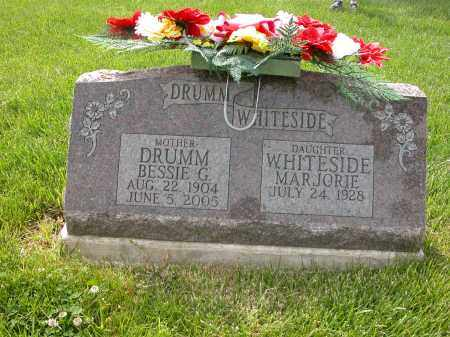 WHITESIDE, MARJORIE - Union County, Ohio | MARJORIE WHITESIDE - Ohio Gravestone Photos