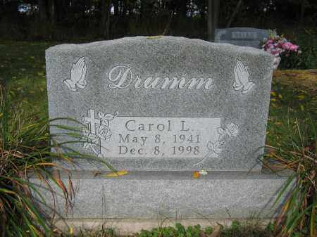 DRUMM, CAROL L. - Union County, Ohio | CAROL L. DRUMM - Ohio Gravestone Photos