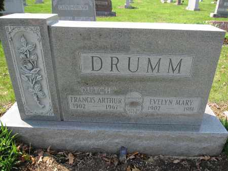 DRUMM, EVELYN MARY WARNER - Union County, Ohio | EVELYN MARY WARNER DRUMM - Ohio Gravestone Photos