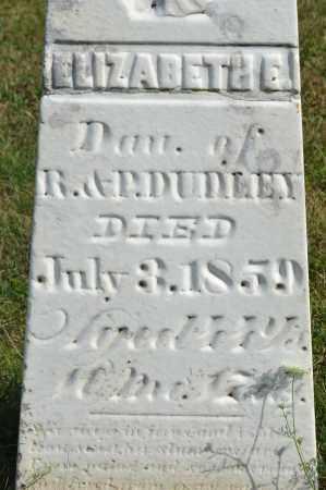 DUDLEY, ELIZABETH E. - Union County, Ohio | ELIZABETH E. DUDLEY - Ohio Gravestone Photos