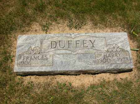 DUFFEY, FRANCES - Union County, Ohio | FRANCES DUFFEY - Ohio Gravestone Photos